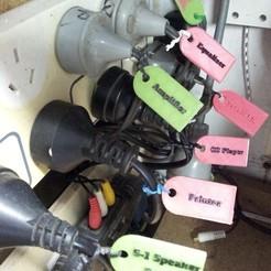Lead Tags.jpg Télécharger fichier STL gratuit Étiquettes de plomb de puissance • Plan à imprimer en 3D, brumarg
