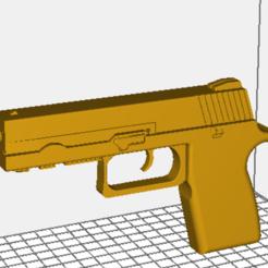 Download free 3D printer files police gun, wynsyoran