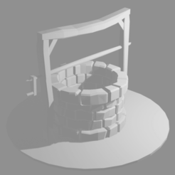 Download free STL file A well for wargaming, wynsyoran