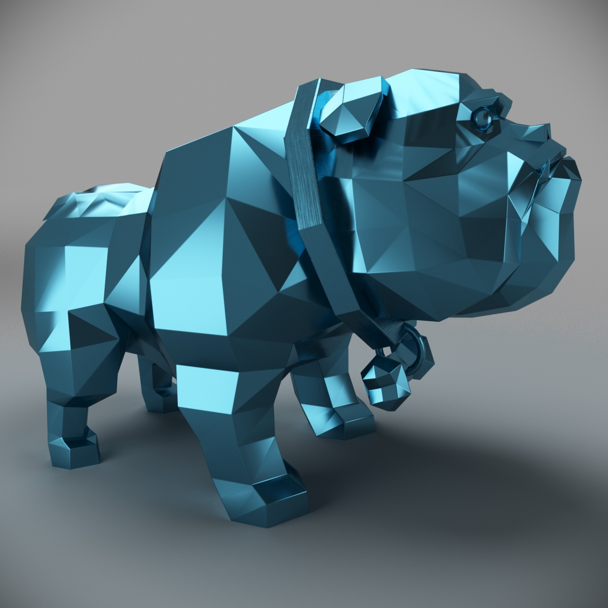 dog2.jpg Download 3DS file Dog-bulldog • 3D printing template, MaKsi3D