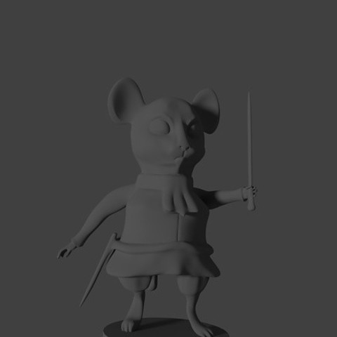 Download free STL files Mouse, MaKsi3D