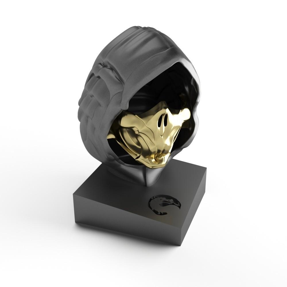 scorpion4.jpg Download STL file Scorpion mask • 3D print design, MaKsi3D