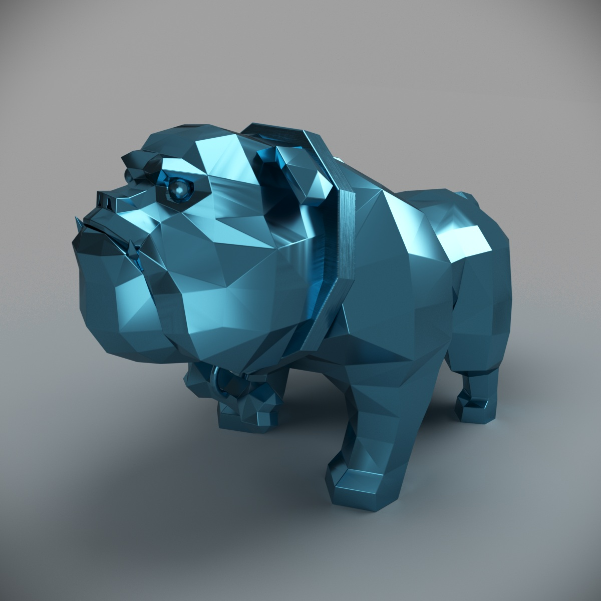 DOg.jpg Download 3DS file Dog-bulldog • 3D printing template, MaKsi3D