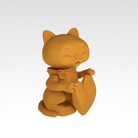 Download free 3D printer files cat, MaKsi3D
