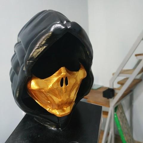 Download STL files Scorpion mask, MaKsi3D