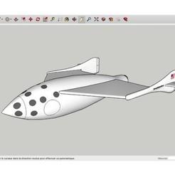 Download free 3D printer model SpaceShip_One_Virgin_Galactic, rostchup228