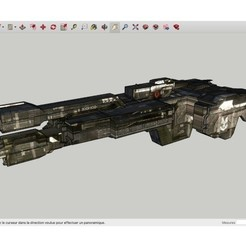 Download free 3D print files Halo_3_UNSC_Frigate_Aegis_Fate, rostchup228