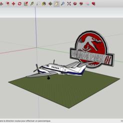 Descargar modelo 3D gratis Parque Jurásico 3, rostchup228