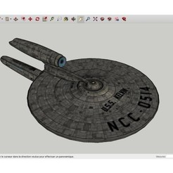 Download free 3D printing models USS_Kelvin_SpaceShip, rostchup228