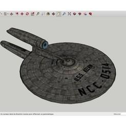 Descargar archivos STL gratis USS_Kelvin_SpaceShip, rostchup228