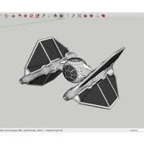 Download free 3D printer templates Tie_Invader_Star_Wars, rostchup228