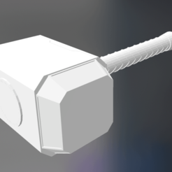 Download free 3D printing models Mjolnir_Thor_s_Hammer_The_Avengers, rostchup228