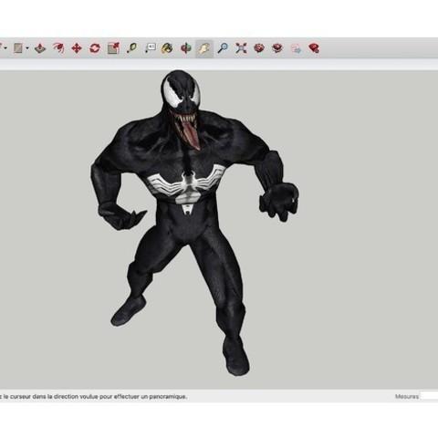 Download free 3D printing designs Venom, rostchup228