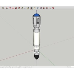 Download free 3D printer designs Sonic_Screwdriver_Dr_Who, rostchup228