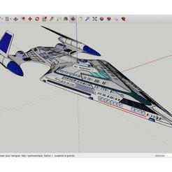 Download free STL file Star_Trek_Avenger_Class, rostchup228