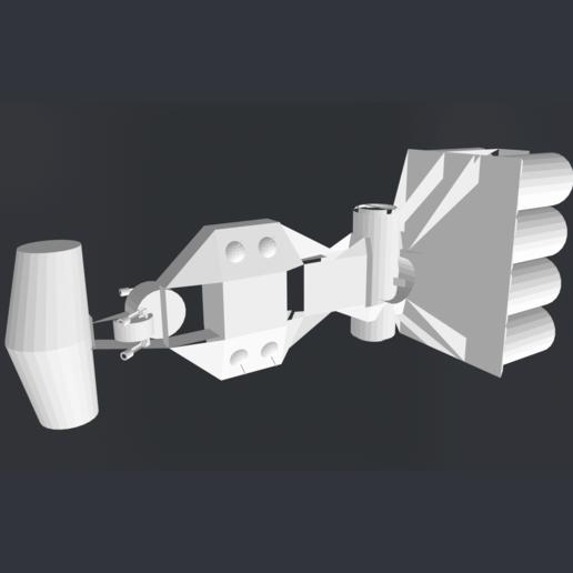 Télécharger fichier STL gratuit Corvette_Star_Wars • Modèle pour imprimante 3D, rostchup228