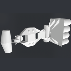 image copie.png Download free STL file Corvette_Star_Wars • 3D printing object, rostchup228