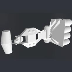 image copie.png Télécharger fichier STL gratuit Corvette_Star_Wars • Modèle pour imprimante 3D, rostchup228