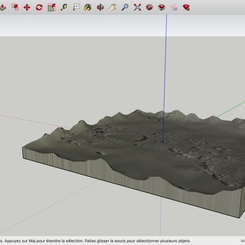 Download free STL files Moon, rostchup228