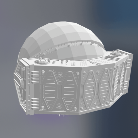 Download free 3D printing models Traveller_-_Tigress-class_Dreadnought, rostchup228