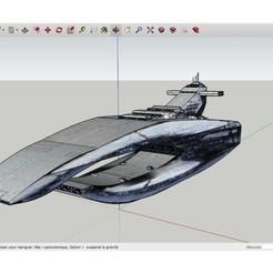 Download free STL Leviathan_Interdictor-class_Cruiser, rostchup228