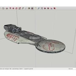 Télécharger modèle 3D gratuit Astral_Queen_SpaceShip, rostchup228