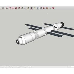 Télécharger plan imprimante 3D gatuit Orbital_Spaceship, rostchup228