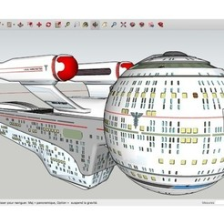 Fichier 3D gratuit USS_Hippocrates_Olympic_Class_Starship, rostchup228