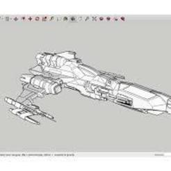 Download free 3D printing files W-B-39_SpaceShip, rostchup228