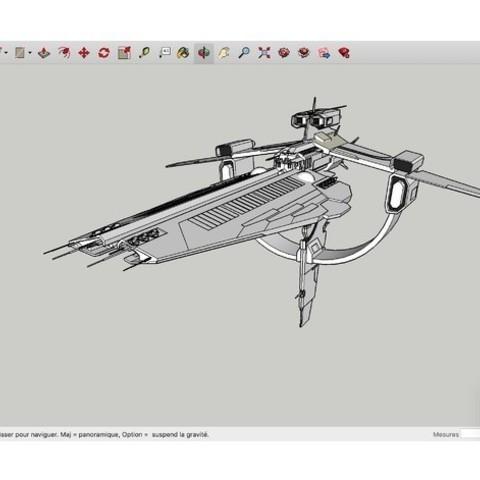 Download free 3D printer model The_GILGAMESH_SpaceShip, rostchup228