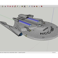 Descargar modelo 3D gratis USS_Reliant_Kelvin_SpaceShip, rostchup228