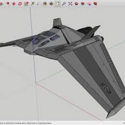 Download free 3D printer designs The_Stargate_F-302_Star_Wars, rostchup228