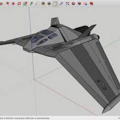 Download free 3D printer designs The_Stargate_F-302_Star_Wars, rostchup228
