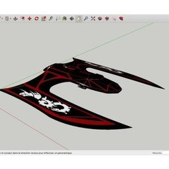 Download free 3D printer templates W-D-1_SpaceShip, rostchup228