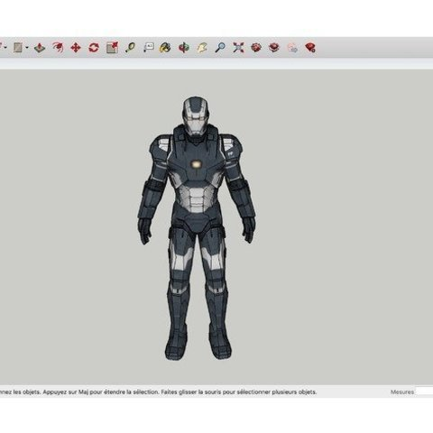 Download free 3D printing models War_Machine_Iron_Man, rostchup228