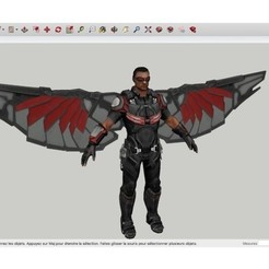 Download free STL The_Falcon Avenger, rostchup228