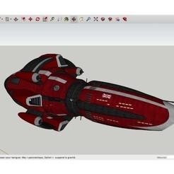 Download free STL files H.M.S. Argonaut, rostchup228