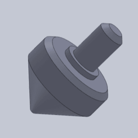 Download free 3D printer templates ONE Spinning top, rostchup228