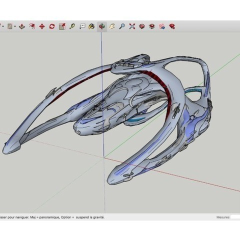 Download free 3D printer designs Andromeda_Ascendant_Ships, rostchup228