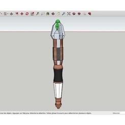 Impresiones 3D gratis Dr. Who's_Sonic_Screwdriver.stl, rostchup228