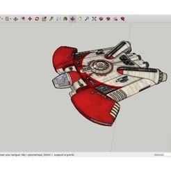 Download free 3D printer designs Ghtroc_720_Light_Light_Freighter_-_Star_Wars, rostchup228