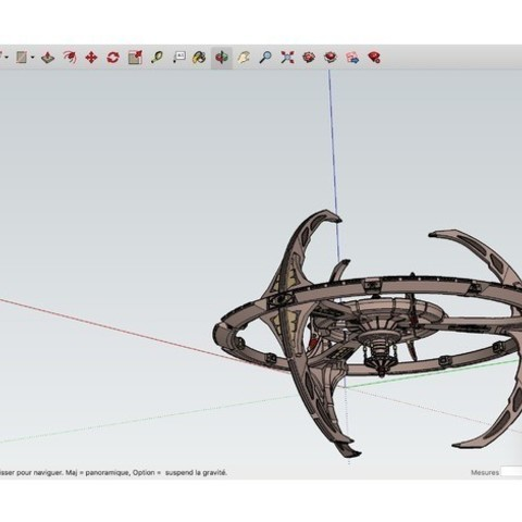 Download free 3D model Star_Trek_-_Deep_Space_Nine ・ La Poste