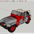 Free 3D print files Jurassic Park Jeep, rostchup228