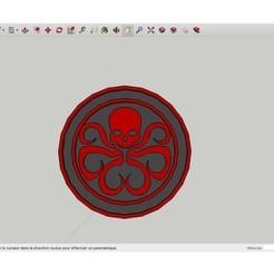 Modèle 3D gratuit Marvel_Hail_Hydra, rostchup228
