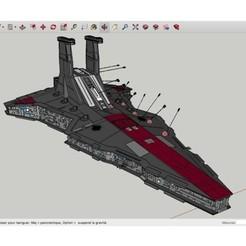 Download free STL file SpaceShip_Star_Wars, rostchup228