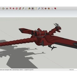 Download free STL Mecha_War_Dragon, rostchup228