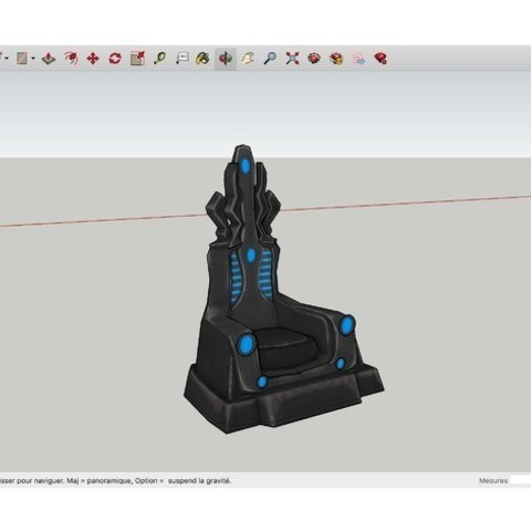 Download free 3D printing templates Throne_Thanos, rostchup228