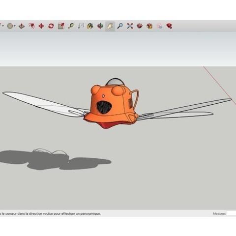 Télécharger objet 3D gratuit Flapter Laputa, rostchup228