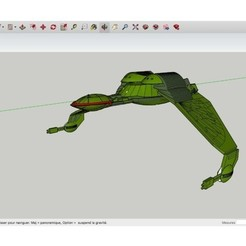 Download free STL files Klingon_Bird_of_Prey_Star_Trek, rostchup228