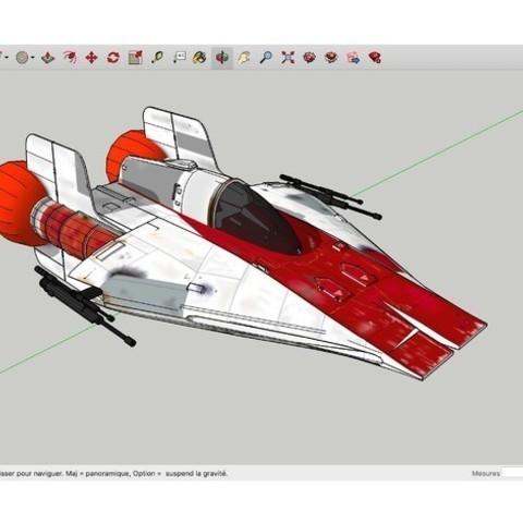 Descargar archivos STL gratis A-Wings_Suck_Star_Wars, rostchup228